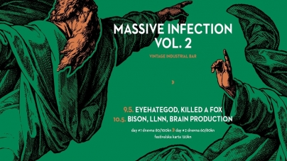 Eyehategod i Bison na Massive Infection Festivalu vol. 2 u Vintageu