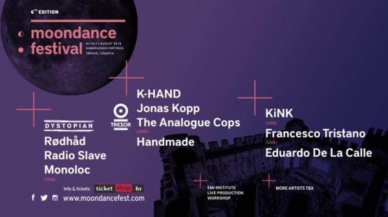 Otkriven line-up Moondance Festivala