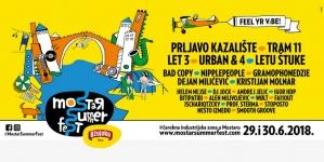 Mostar Summer Fest: Najavljeno više od 25 izvođača na 2 stagea