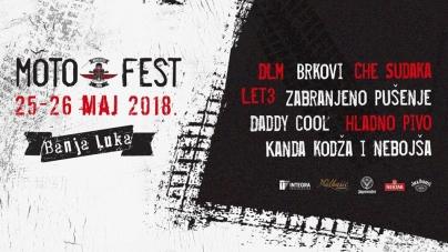 Sve je spremno za drugi po redu Moto Fest Banjaluka 2018