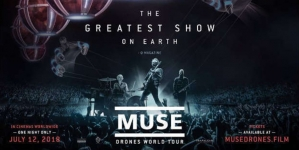 'Muse: Drones World Tour' na velikom platnu