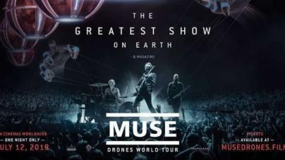 Film 'Muse: Drones World Tour' u bioskopima samo jedan dan