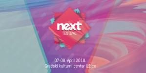 Prti Bee Gee, E-Play i Ničim izazvan zvezde NEXT festivala u Užicu