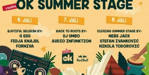 OK Summer Stage – novo osvježenje na Nektar OK Festu