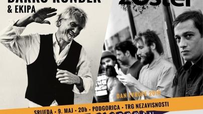 Darko Rundek i Zoster 9. maja u Podgorici