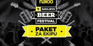 Kupiš tri, dobiješ 4 – Paket ulaznica za 7. haloo Sarajevo beer festival