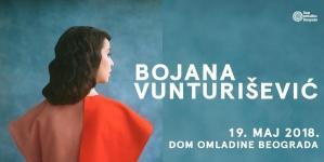 Veliki koncert Bojane Vunturišević 19. maja u Domu omladine Beograda