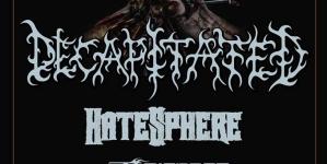 Decapitated, Hatesphere i Thy Disease 11. novembra u Novom Sadu