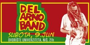 Del Arno Band 9. juna zakazao susret Nišlijama