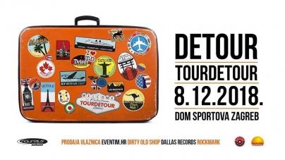 Veliki koncert benda Detour sutra u zagrebačkom Domu sportova – dijelimo 4×2 ulaznice