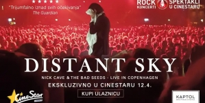 U Cinestaru i u Kaptol Boutique Cinema – 'Nick Cave & The Bad Seeds uživo u Kopenhagenu'