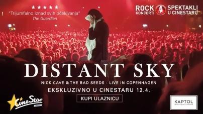 U Cinestaru i u Kaptol Boutique Cinema – 'Nick Cave & The Bad Seeds uživo u Kopenhagenu'
