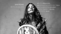 Sara Renar na turneji po Bosni i Hercegovini