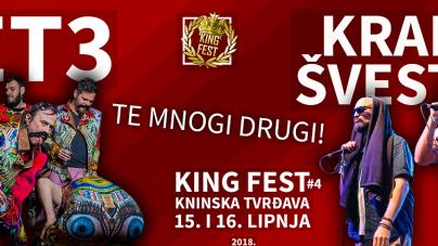 Četvrti po redu King Fest 15. i 16. lipnja