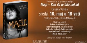 """Promocija knjige """"Magi – Kao da je bila nekad"""" 16. maja u Beogradu"""