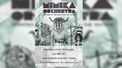 Mimika promovira novi album 25.05. u zagrebačkom Muzeju suvremene umjetnosti