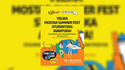 Mostar Summer Fest ove godine ima sjajne prilike za studente