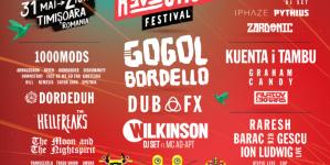 Gogol Bordello, Dub Fx, 1000mods, Wilkinson i drugi na R:EVOL:UTION festival-u u Temišvaru