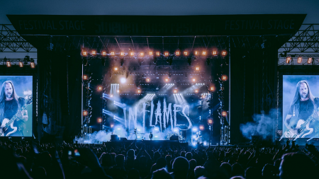 In Flames announce summer headline shows