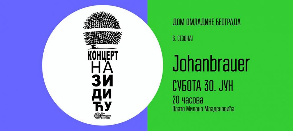 Johanbrauer u nastavku Koncerata na Zidiću Doma omladine Beograda