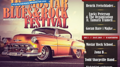 16. Mostar Blues & Rock Festival 19. i 20. jula