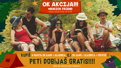 Nektar OK Fest 2018 – OK AKCIJA #budiOKfriend