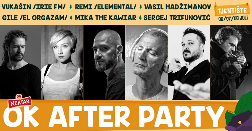 OK After Party – nova imena na Nektar OK festu