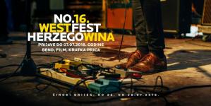 Otvoren natječaj za prijavu radova na 16. West Herzegowina Fest