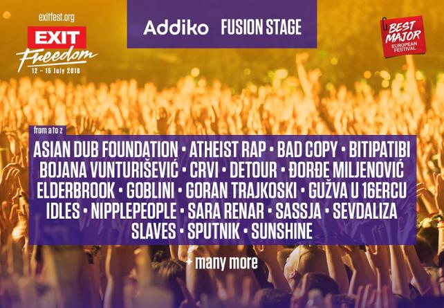 Kultni bendovi i nove muzičke snage na Addiko Fusion bini EXIT festivala