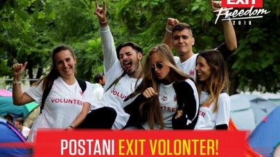 Budi deo EXIT tima: Postani EXIT volonter