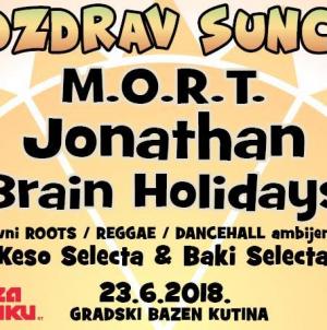 "Jonathan, M.O.R.T. i Brain Holidays na festivalu ""Pozdrav Suncu"""