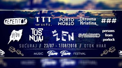 Predstavljen cijeli program TAM TAM Music Festivala 2018