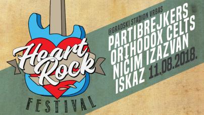 Partibrejkersi, Ortodox Celts, Ničim izazvan i Iskaz na prvom Heart Rock Festu u Vrbasu