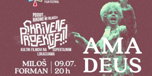 Motovun Film Festival: 'Amadeus' Miloša Formana iduća je Skrivena projekcija