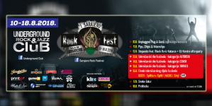 7. Sarajevo Rock Fest od 10. do 19. augusta