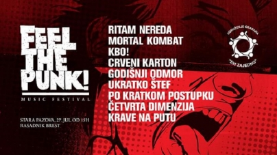 "Humanitarni festival ""Feel the punk!"" 27. jula u Staroj Pazovi"