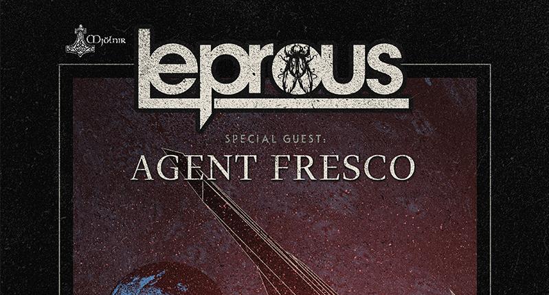 Leprous i Agent Fresco 10. septembra u Domu omladine Beograda
