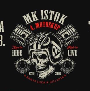4. Međunarodni motoskup MK ISTOK Banja Luka od 27. do 29. jula
