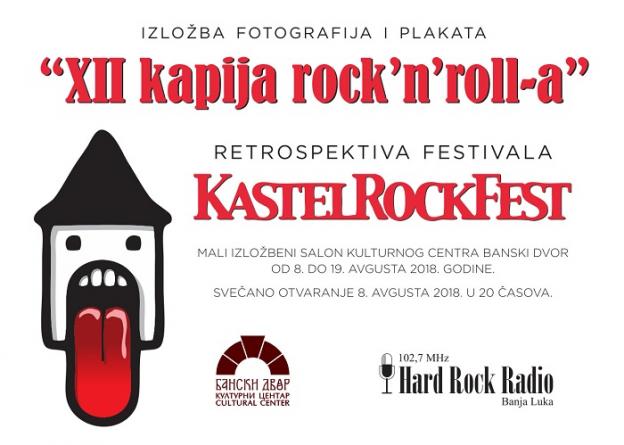 "Izložba ""Kastel rock fest"" od 8. do 19. avgusta"