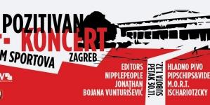 14. Pozitivan koncert – Više od 5 sati programa, Editors i Hladno pivo s punim koncertnim setovima!