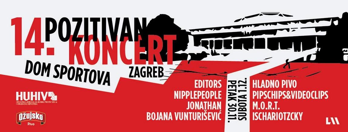 Editors, Hladno pivo i Pipsi predvode najveći Pozitivan koncert dosad