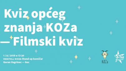 Star Film Fest 2018.: Najpopularniji hrvatski pub kviz po prvi put gostuje u Sisku
