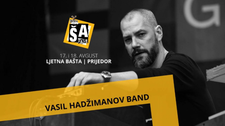 """Vasil Hadžimanov o ŠA Festu – """"Otputovaćemo daleko preko naše muzike"""""""