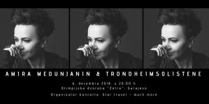 Amira Medunjanin i TrondheimSolistene 6. decembra u sarajevskoj Zetri