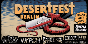 Desertfest Berlin 2019 – First bands: Witch, All Them Witches, Earthless, Colour Haze & more