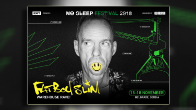 Fatboy Slim specijalno za No Sleep Festival pravi veliki Warehouse Rave u Luci Beograd