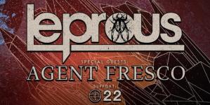 Leprous, Agent Fresco i 22 u Grazu
