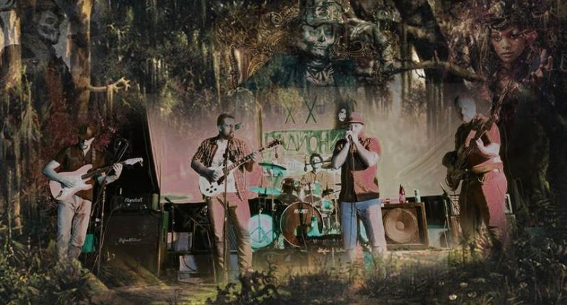 Loup-Garou na Open Air Blues Festivalu u Rumuniji