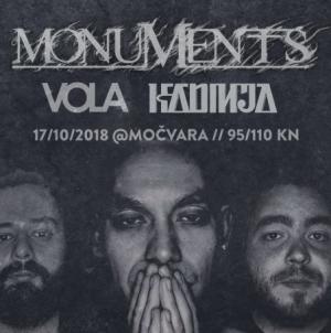Monuments, Vola i Kadinja na Good Vibrationsu u Močvari