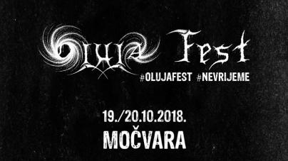 10. izdanje Oluja Festa u Močvari 19. i 20. listopada